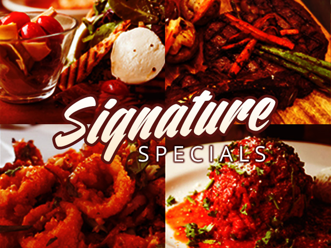 Massimino's Signature Specials